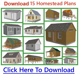 Download Small Homestead Cabin Plans